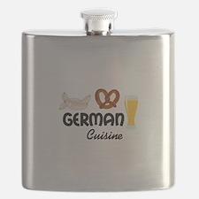 GERMAN CUISINE Flask