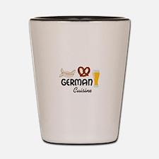 GERMAN CUISINE Shot Glass