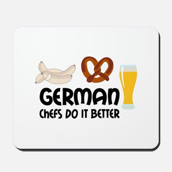 GERMAN CHEFS Mousepad