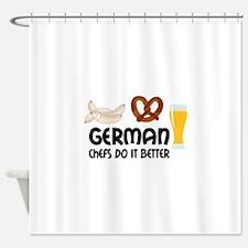 GERMAN CHEFS Shower Curtain