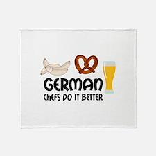 GERMAN CHEFS Throw Blanket