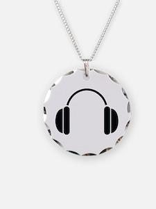 MUSIC HEADPHONES Necklace