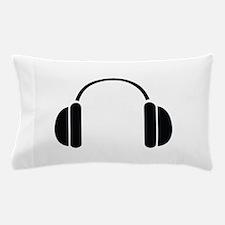 MUSIC HEADPHONES Pillow Case