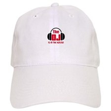DJ IS IN THE HOUSE Baseball Baseball Cap