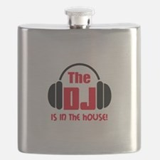 DJ IS IN THE HOUSE Flask