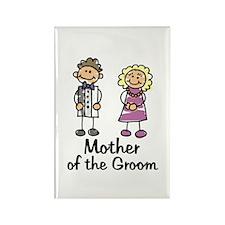 Cartoon Groom's Mother Rectangle Magnet