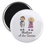 Cartoon Groom's Mother Magnet