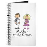Cartoon Groom's Mother Journal