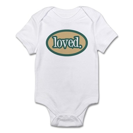 Loved (white) Infant Bodysuit