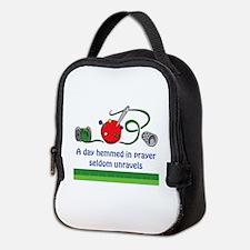 HEMMED IN PRAYER Neoprene Lunch Bag