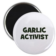 "garlic activist 2.25"" Magnet (100 pack)"