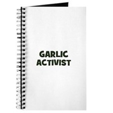 garlic activist Journal