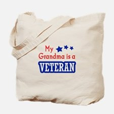 GRANDMA IS A VETERAN Tote Bag