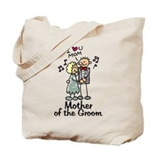 Cartoon Groom's Mother Tote Bag