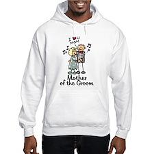 Cartoon Groom's Mother Hoodie