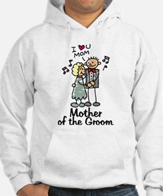 Cartoon Groom's Mother Hoodie