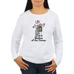 Cartoon Groom's Mother Women's Long Sleeve T-Shirt