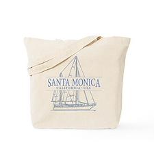 Santa Monica CA - Tote Bag