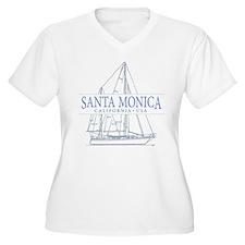 Santa Monica CA - T-Shirt