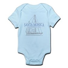 Santa Monica CA - Infant Bodysuit
