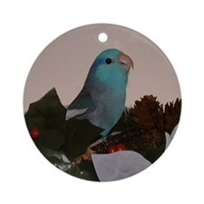 Male Blue Parrotlet Ornament