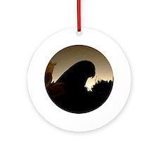Silouette Parrotlet Ornament