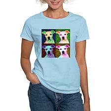 Retro Bubba Women's Pink T-Shirt
