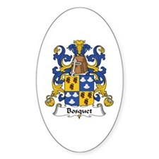 Bosquet Oval Decal