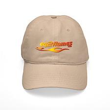 EQ2Flames Logo Baseball Cap