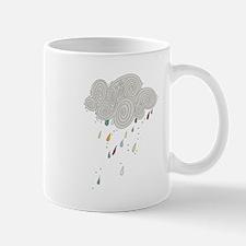 Rain Cloud Illustration Mugs