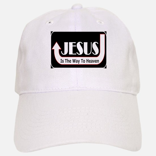 Jesus is the way Baseball Baseball Cap
