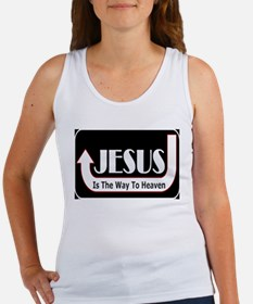 Jesus is the way Women's Tank Top