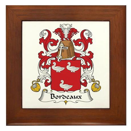 Bordeaux Framed Tile