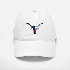TEXAS FLAG LONGHORN Baseball Baseball Baseball Cap