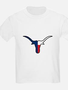 TEXAS FLAG LONGHORN T-Shirt
