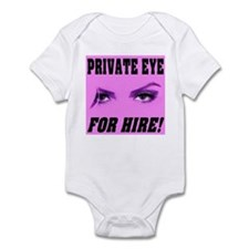 Private Eye For Hire Infant Bodysuit