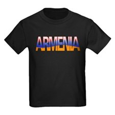 """Armenia Bubble Letters"" T"