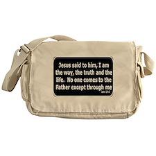 Jesus said to him Messenger Bag