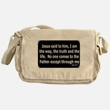 Jesus said to him Messenger Bag