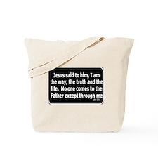 Jesus said to him Tote Bag