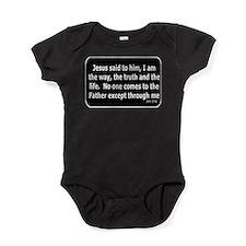 Jesus said to him Baby Bodysuit