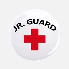 "LIFEGUARD JUNIOR 3.5"" Button"