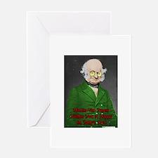 Martin Van Buren St. Pat's Greeting Cards