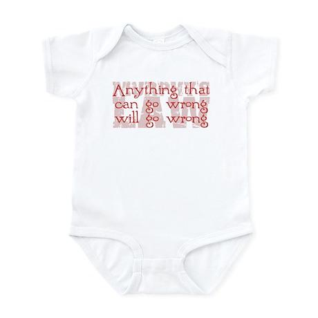 Murphy's Law Infant Bodysuit