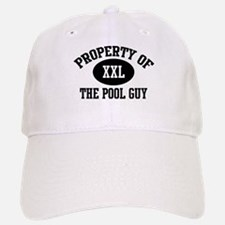 Property of the Pool Guy Baseball Baseball Cap
