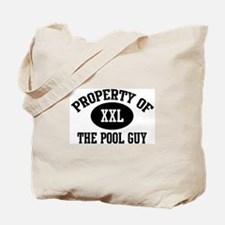 Property of the Pool Guy Tote Bag