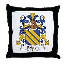 Boisson Throw Pillow