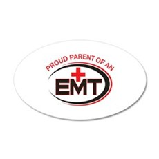 PROUD PARENT OF EMT Wall Decal