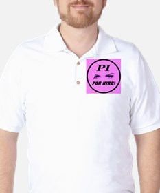 PI For Hire Pretty In Pink T-Shirt