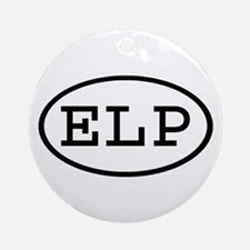 ELP Oval Ornament (Round)